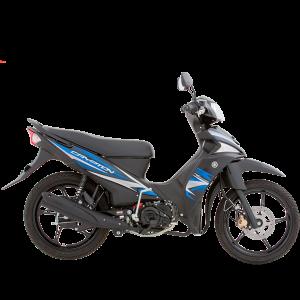 Yamaha Crypton FI Negra Azul