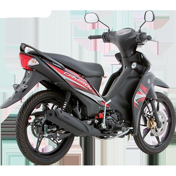 Yamaha Crypton FI Negra