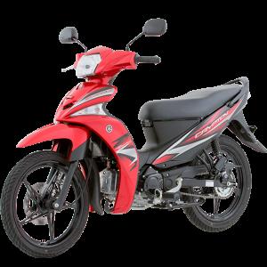 Yamaha Crypton FI Roja
