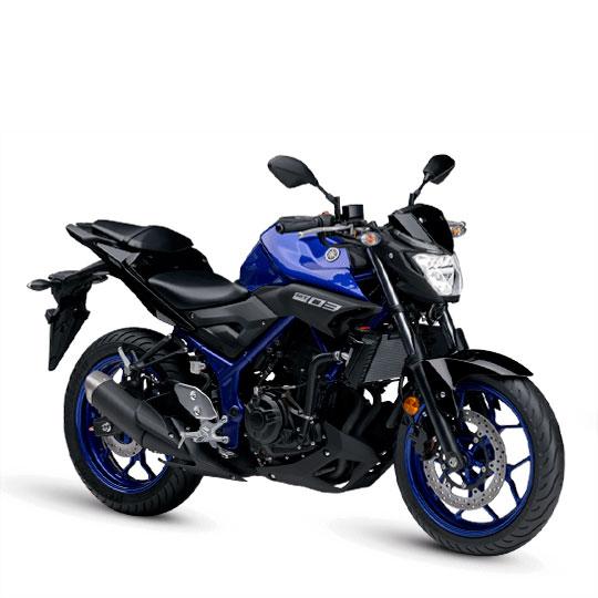 Yamaha MT 03 Azul