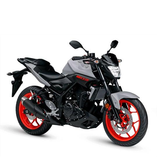 Yamaha MT 03 Roja