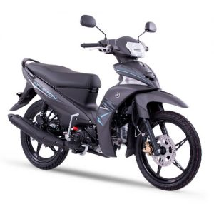 Crypton Negro Azul Yamaha